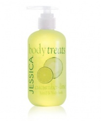 Jessica Cucumber - Lime - hand and body bath 245 ml